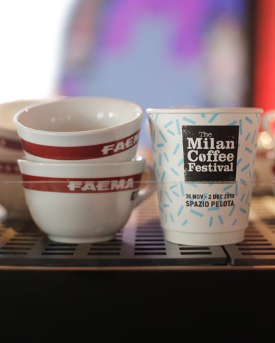 The Milan Coffee Festival official cup by Seda